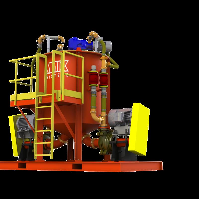 AGP-Paddle Mixer