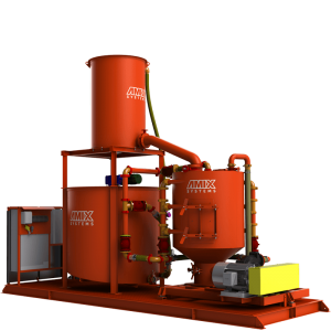 grout mixing and pumping systems