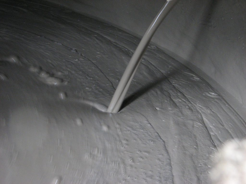 heavy grout, grout mixing