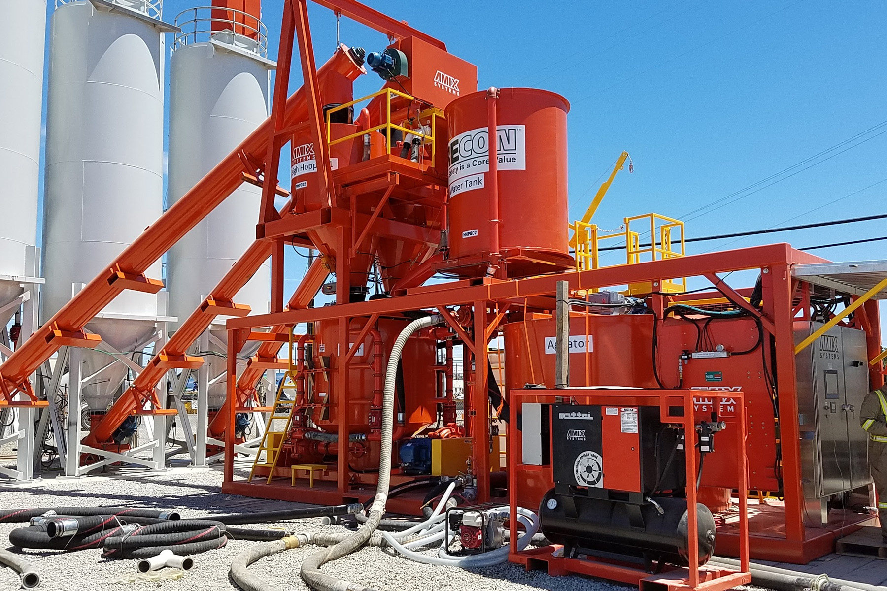 Amix Colloidal Mixer for Civil and Mining Projects