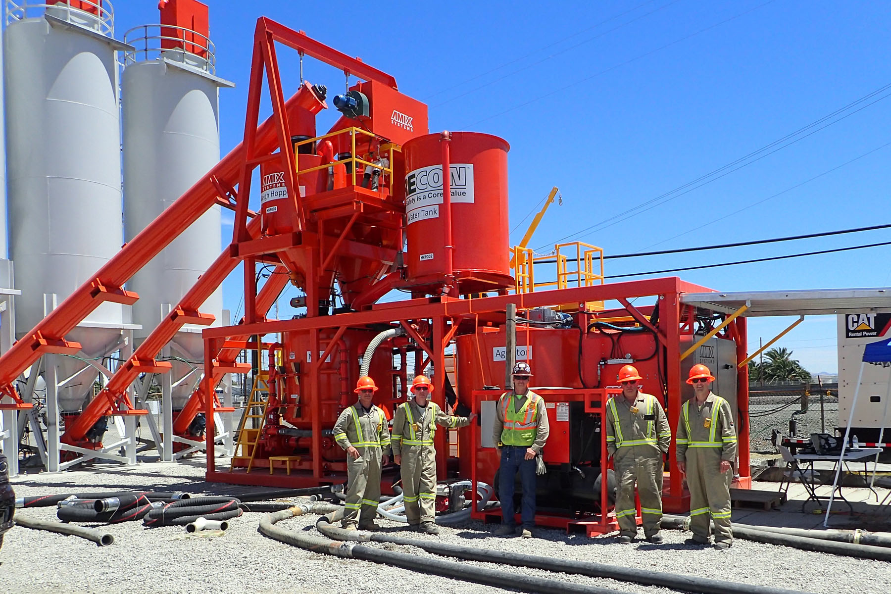 AGP-HURRICANE grout mixing and pumping systems